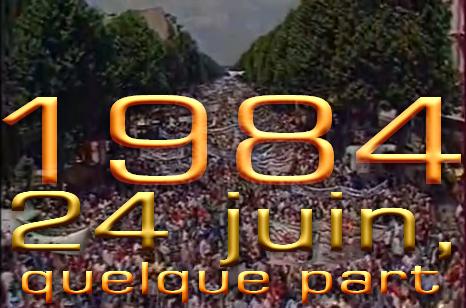 1984 reste à ce jour la manifestation qui a réuni le plus grand nombre de citoyens depuis la seconde guerre mondiale !